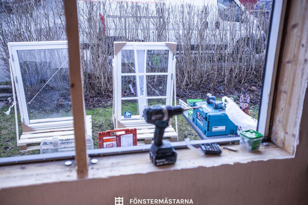 Fönster från SP-fönster