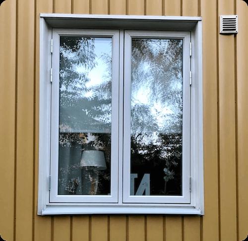 Fönsterbyte BRF utifrån